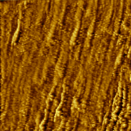 Crystal grains in gold. Constant-current mode, 1 nA, 50 mV bias.